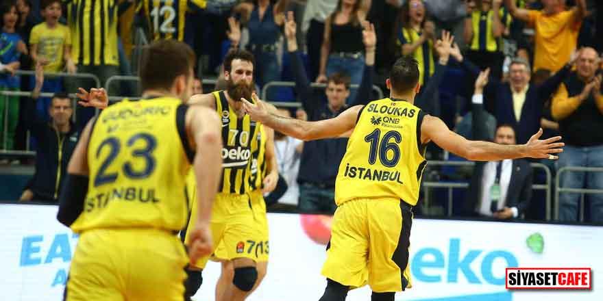 Normal sezonu lider tamamlayan Fenerbahçe Beko'dan bir ilk