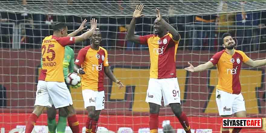 Diagne'nin yıldızlaştığı maçta Galatasaray, 3 puanı 3 golle aldı