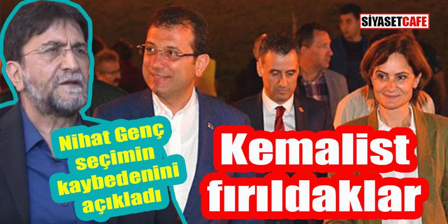 Nihat Genç seçimin kaybedenini açıkladı: Kemalist fırıldaklar!