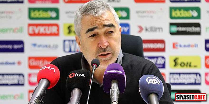 Bursaspor'da flaş gelişme! Samet Aybaba istifa etti