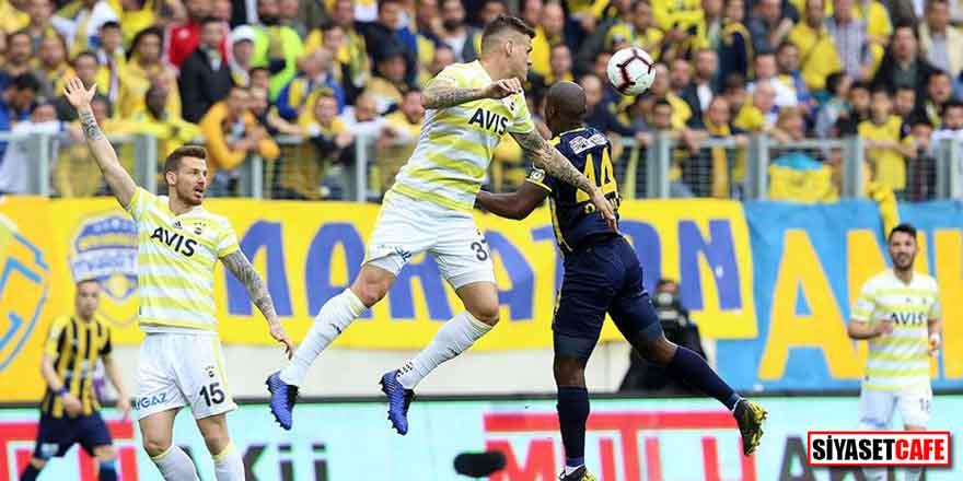 Fenerbahçe, Ankaragücü deplasmanından 1 puanla ayrıldı! 2 gol, 2 kırmızı kart