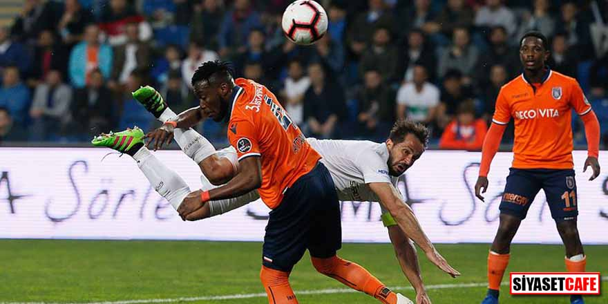 Konyaspor'u mağlup eden Başakşehir puan farkını korudu
