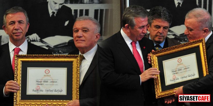 Ankara'da Mansur Yavaş mazbatasını aldı