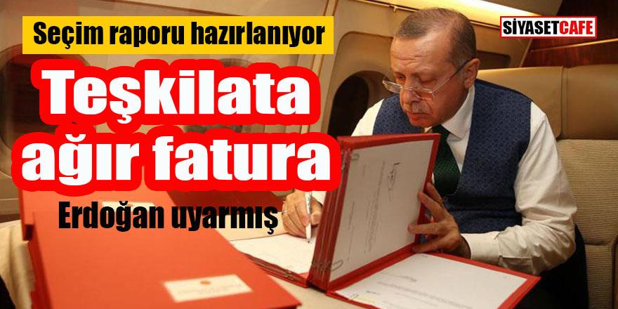 AK Parti'de seçim raporu hazırlanıyor: Teşkilata ağır fatura geliyor!