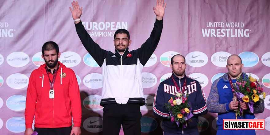 Romanya'da büyük başarı! Taha Akgül 7. kez Avrupa Şampiyonu oldu