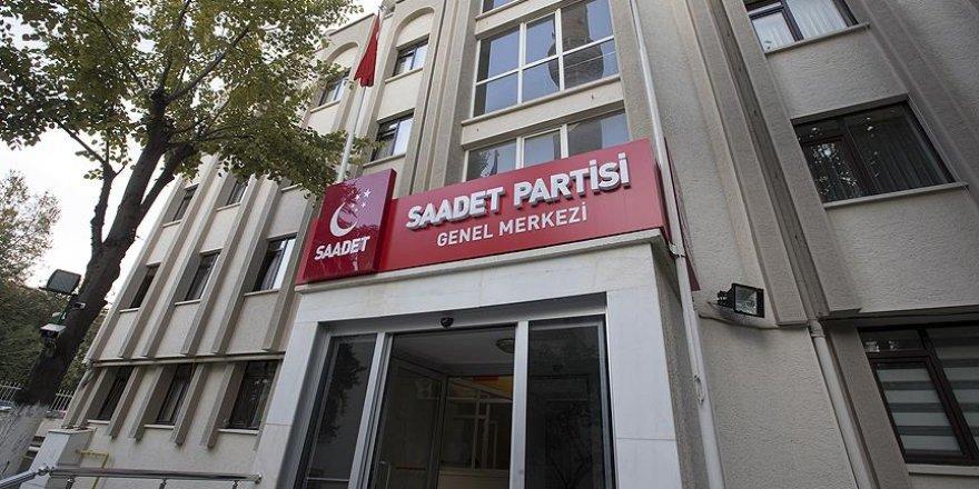 Saadet Partisi Genel Merkezi haciz nedeniyle boşaltılıyor