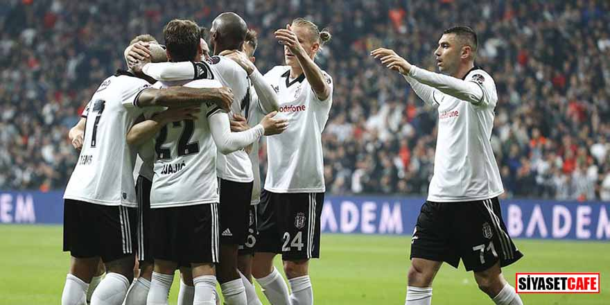Beşiktaş'tan Süper Lig'in seyrini değiştirecek galibiyet