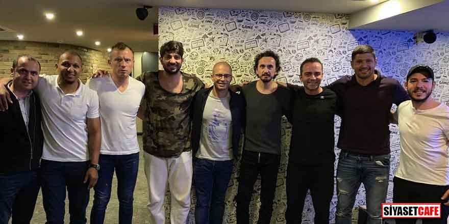 Eski Fenerbahçe'li futbolcular derbi için Kadıköy'e geldi