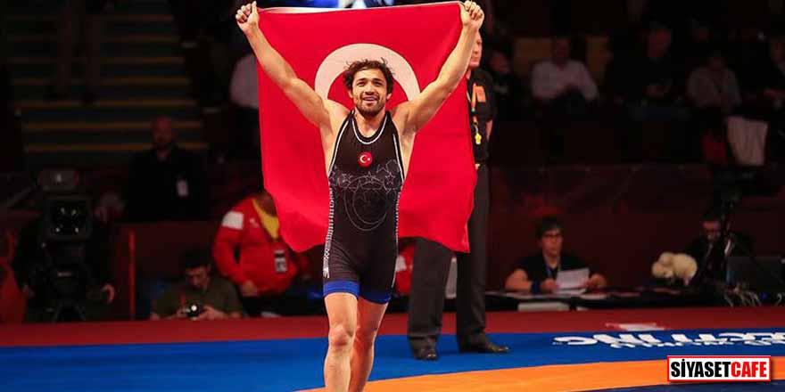 Polonyalı rakibini deviren Atakan Yüksel Avrupa şampiyonu oldu