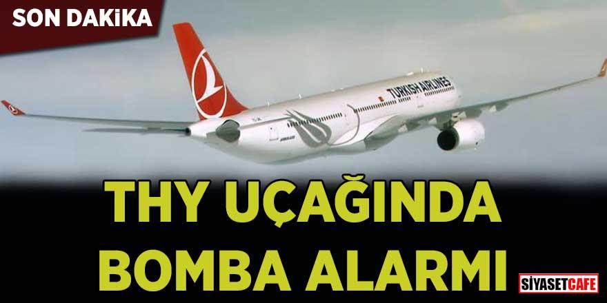 Son dakika… THY uçağında bomba alarmı!