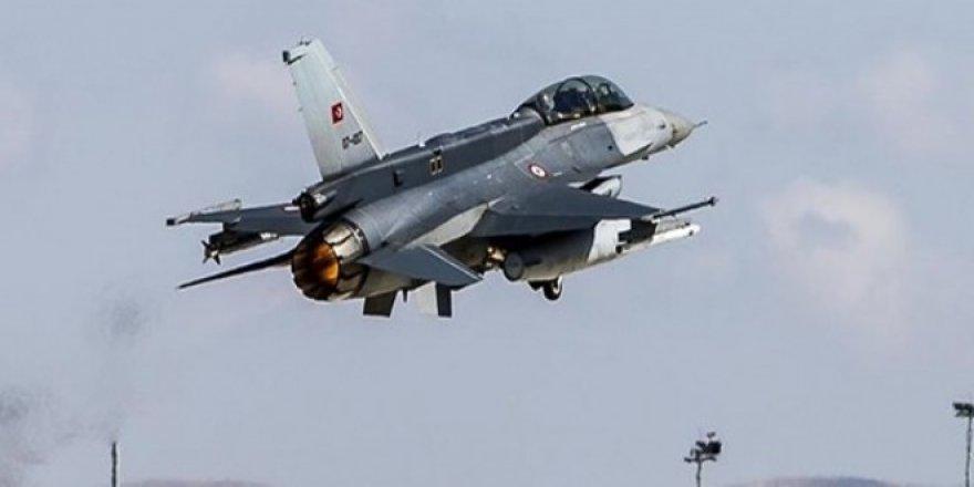 Kuzey Irak'ta ki PKK hedefleri vuruldu