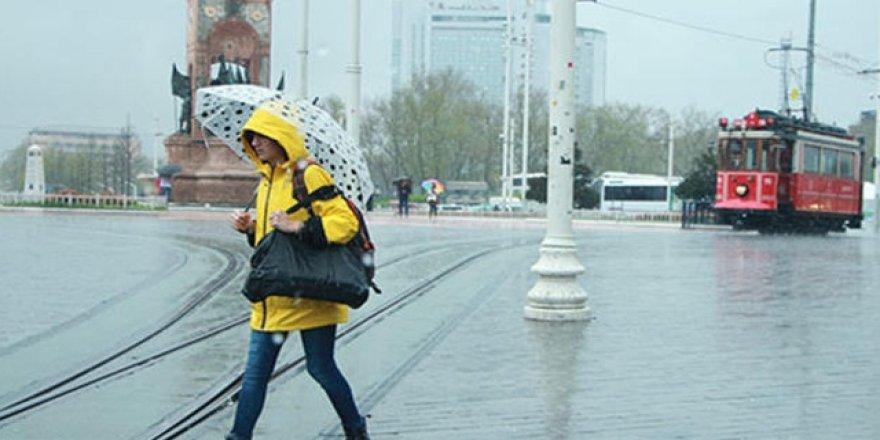 Yarın İstanbul için yağış uyarısı