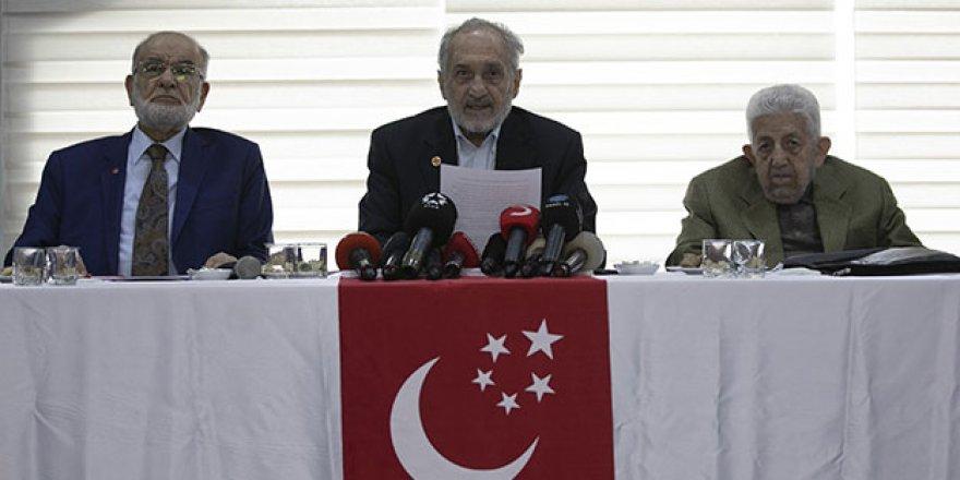 Saadet Partisi'nden genel merkez için yeni karar!