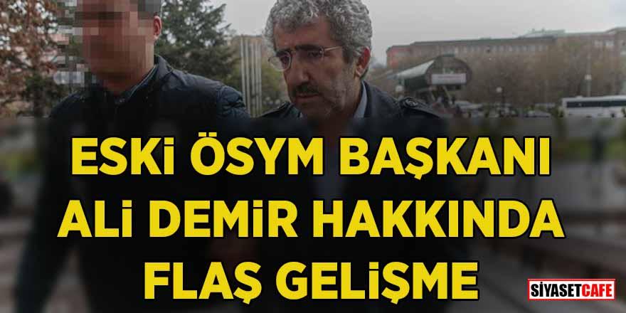 Tutuklama talebiyle mahkemeye sevk edilmişti! Ali Demir hakkında karar verildi