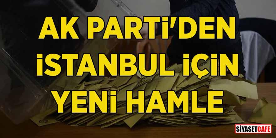 """AK Parti'den İstanbul için yeni hamle! """"İmamoğlu'nun mazbatası hukuka aykırı"""""""
