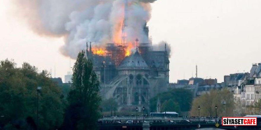Notre Dame Katedrali'nde çıkan yangının nedeni belli oldu