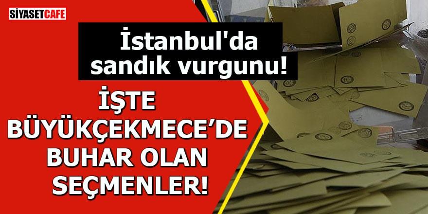 İstanbul'da sandık vurgunu! İşte Büyükçekmece'de buhar olan seçmenler