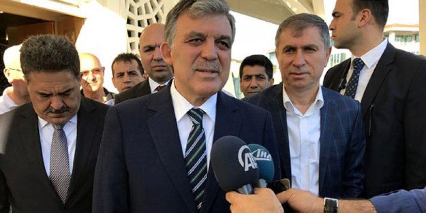 Abdullah Gül'e soruldu: Yeni bir parti kuracak mısınız?