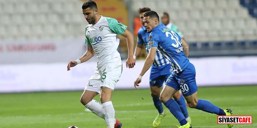 Hasret 5 maça çıktı: Kasımpaşa 1-1 Bursaspor