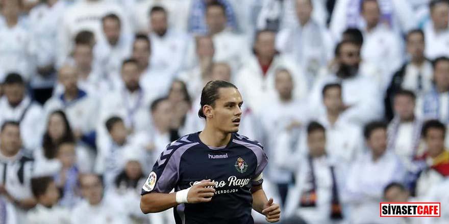 Real Valladolid bir puanı Enes Ünal'la kurtardı!