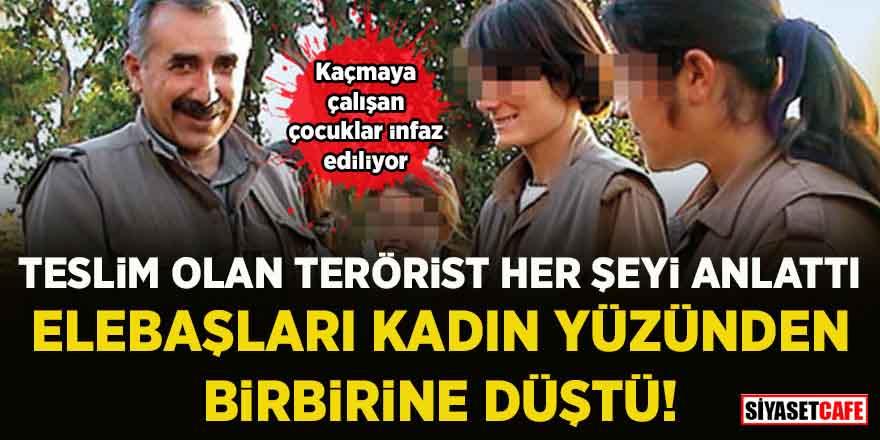 Güvenlik güçlerine teslim olan terörist, PKK'da yaşanan gerçekleri açıkladı