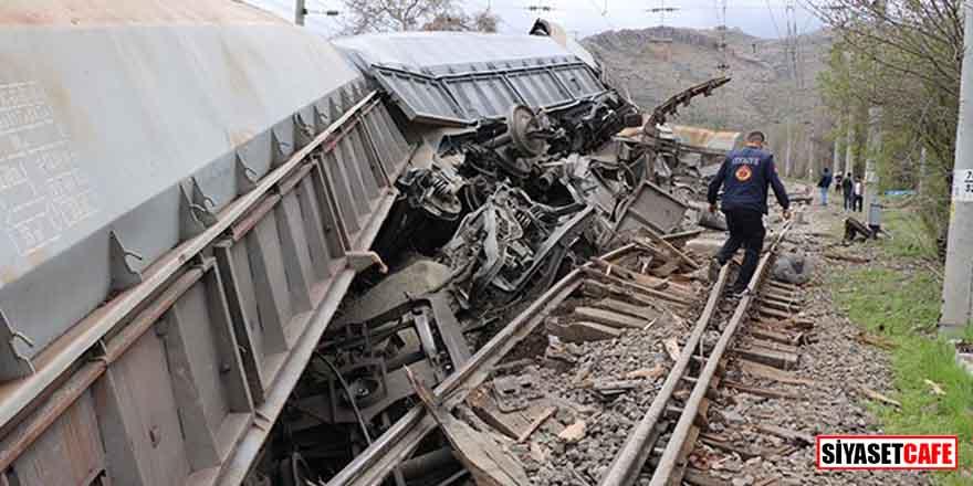 Malatya'nın Hekimhan İlçesi'nde tren kazası!