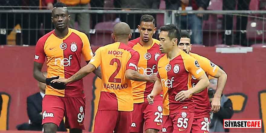 Galatasaray'ın zirve takibi devam ediyor! 4 gol, 1 kırmızı kart