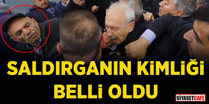 Kemal Kılıçdaroğlu'na yumruk atan kişinin kimliği belli oldu!