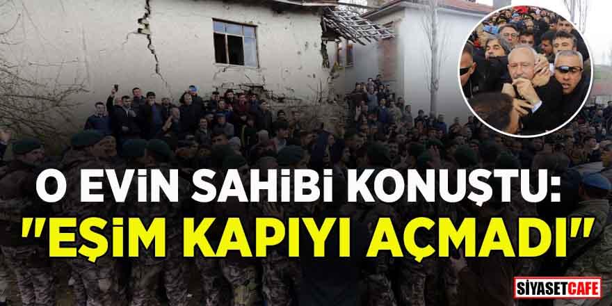 """Kemal Kılıçdaroğlu'nun sığındığı evin sahibi Rahim Doruk konuştu: """"Eşim kapıyı açmadı"""""""