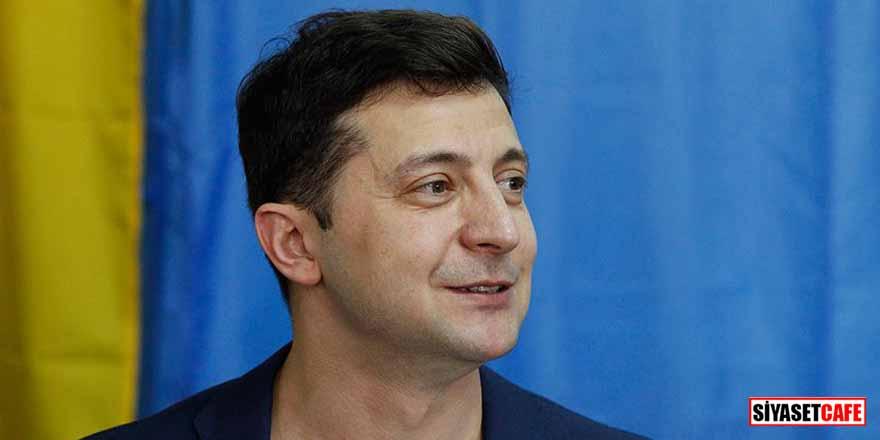 Ukrayna'daki seçimin kazananı komedyen Vladimir Zelenskiy oldu