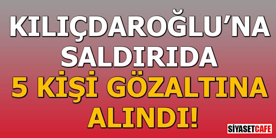 Kılıçdaroğlu'na yumruk atan kişi yakalandı