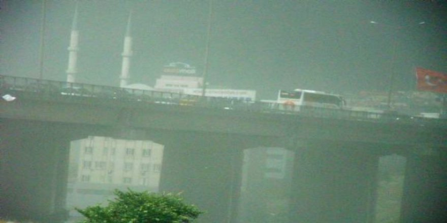 İstanbul'da toz taşınımı alarmı! Çamur yağabilir