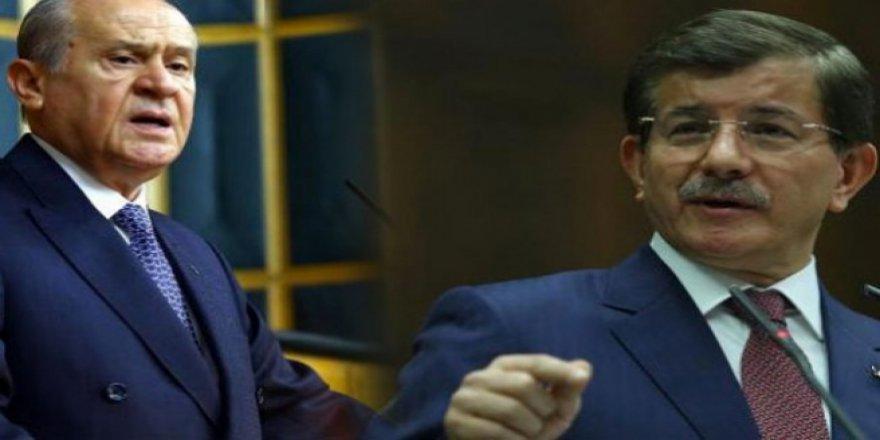 Bahçeli'den Davutoğlu'na: Sicilleri karanlık ve şaibeli isimler