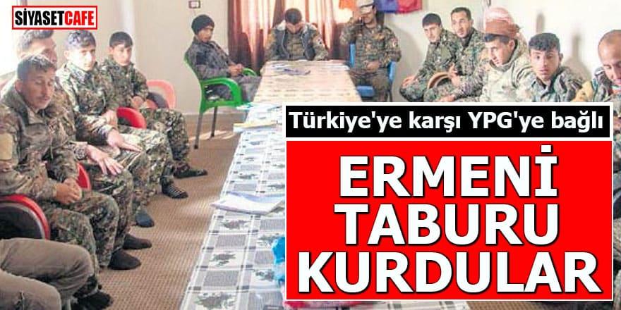 PKK ne olduğunu gösterdi: Ermeni taburu kuruldu!