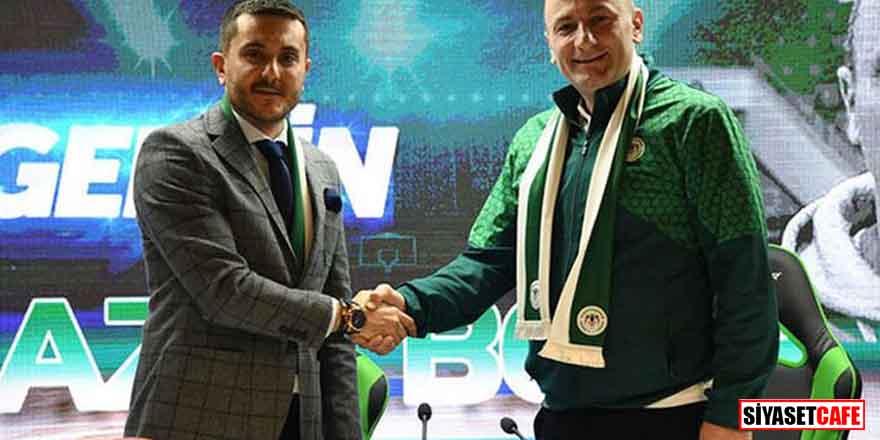 Konyaspor'da yeni hoca resmen açıklandı