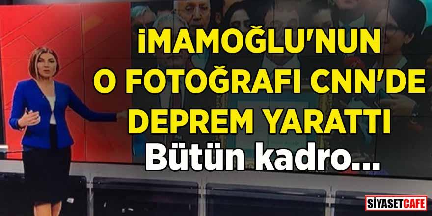İmamoğlu'nun o fotoğrafı CNN'de deprem yarattı! Bütün kadro…