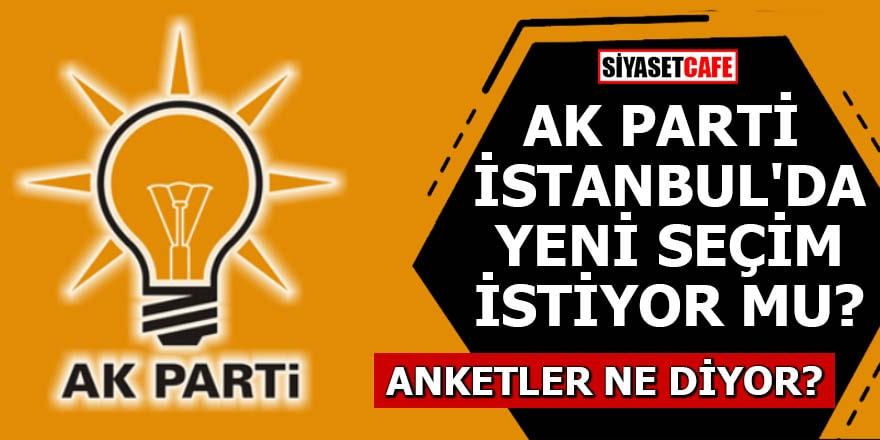 AK Parti İstanbul'da yeni seçim için ne düşünüyor?
