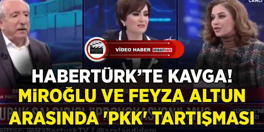 Feyza Altun, Orhan Miroğlu'nun PKK için söylediği sözleri hatırlatınca tansiyon yükseldi
