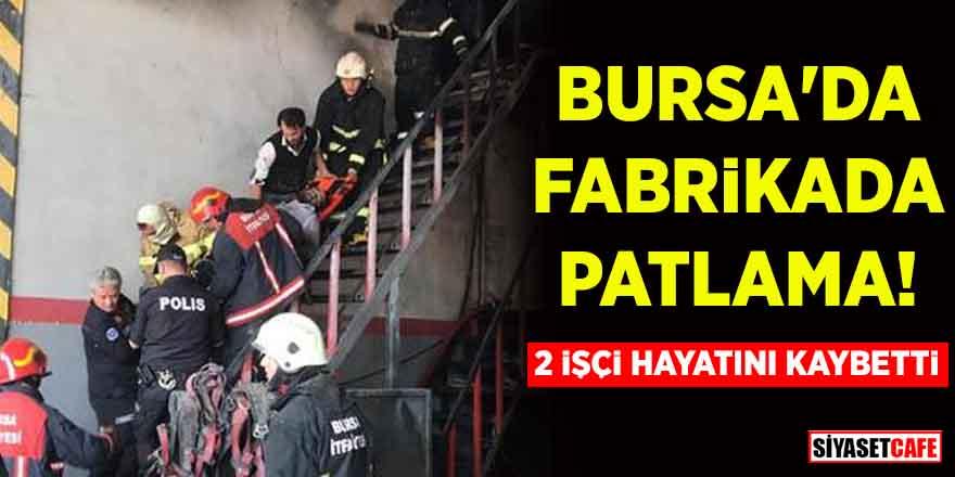 Bursa'nın Yıldırım İlçesi'nde patlama! Ölü ve yaralılar var…