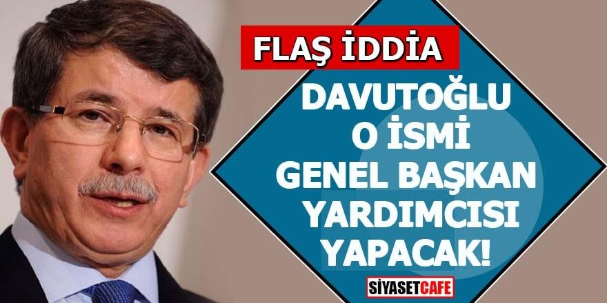 Davutoğlu yeni kuracağı partiye o ismi de alacak