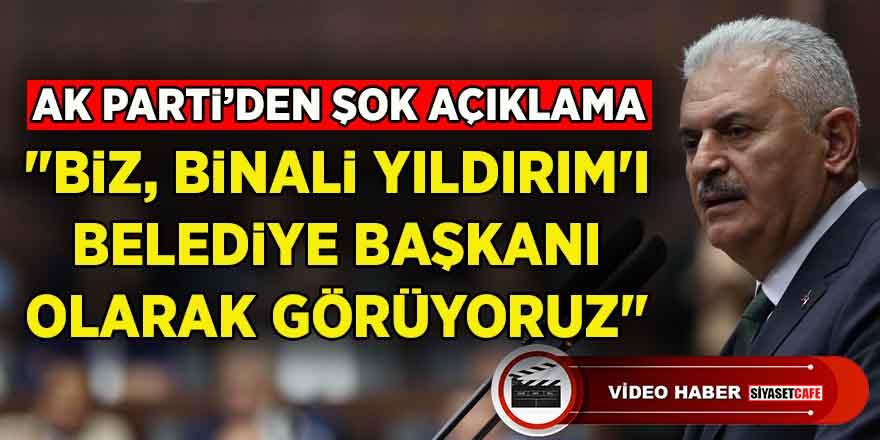 """Ahmet Cin'den şok eden açıklama: """"Binali Yıldırım'ı Belediye Başkanı olarak görüyoruz"""""""