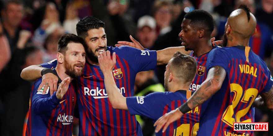 İspanya'da 2018-2019 sezonu şampiyonu Barcelona oldu