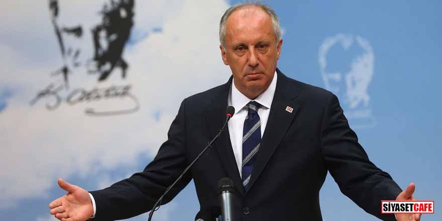 Cumhurbaşkanı Erdoğan'ın 'Türkiye İttifakı' önerisine Muharrem İnce'den yanıt