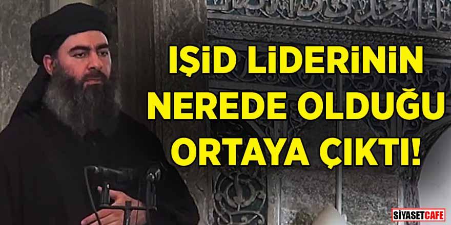 Terör örgütü IŞİD'in lideri Ebu Bekir Bağdadi Irak'a girmeye çalıştı