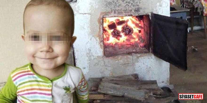 Korkunç olay! 53 yaşındaki adam, 2 yaşındaki torununu yanan sobaya attı