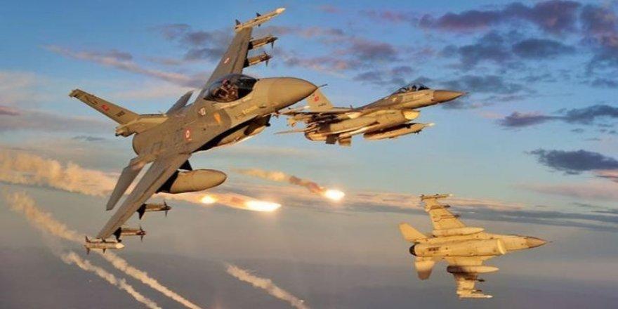 Hava harekatıyla 14 PKK'lı terörist öldürüldü