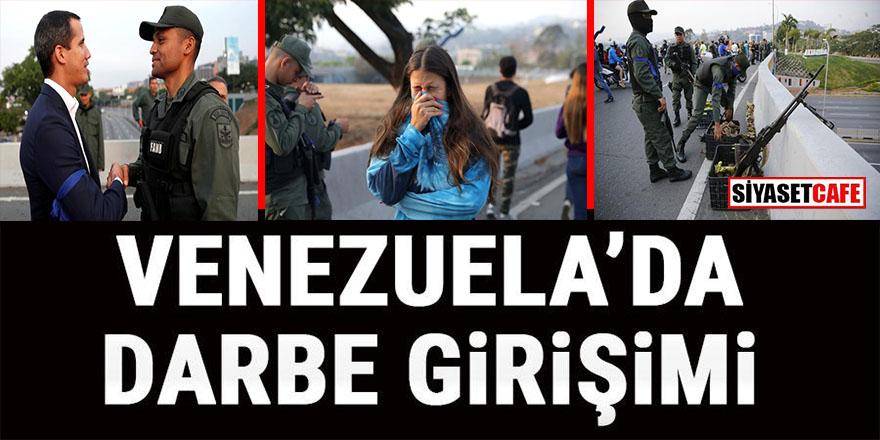 ABD harekete geçti: Venezuela'da darbe girişimi