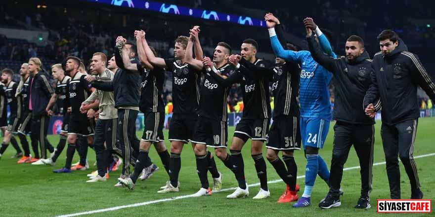 Tottenham'ı deplasmanda mağlup eden Ajax, final kapısını araladı