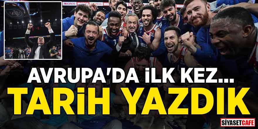 Barcelona'yı deviren Anadolu Efes, THY Avrupa Ligi'nde Dörtlü Final'e yükseldi