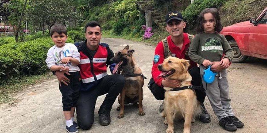 Rize'de dün akşamdan beri ulaşılamayan 2 çocuk bulundu